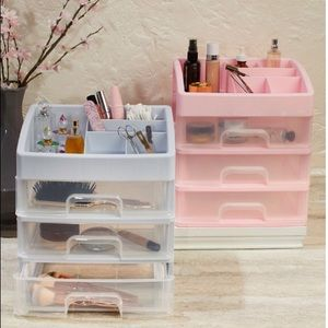 Other - Make up organizer in PINK!! Brand new in box!